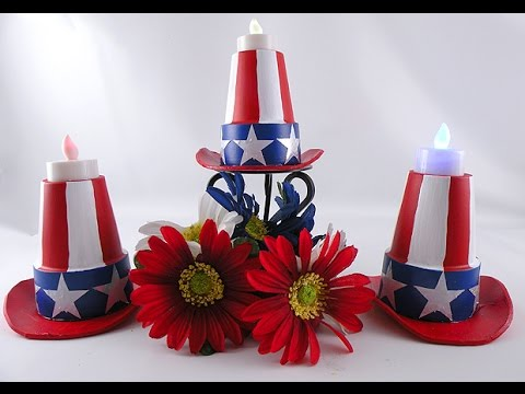 diy 4th of july decorations and crafts - 4th Of July Decorations