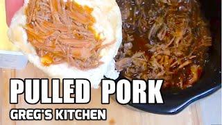 HOW TO MAKE BBQ PULLED PORK - Greg's Kitchen
