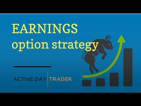 [Trade Idea] How to Trade Earnings w/ Stock Options - How to Trade Options into Earnings