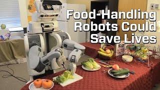 Salad Making Robot Proves Food-Handling Tech