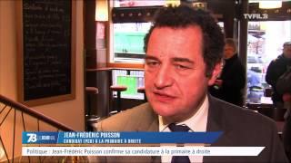 Politique : Jean-Frédéric Poisson confirme sa candidature à la primaire à droite