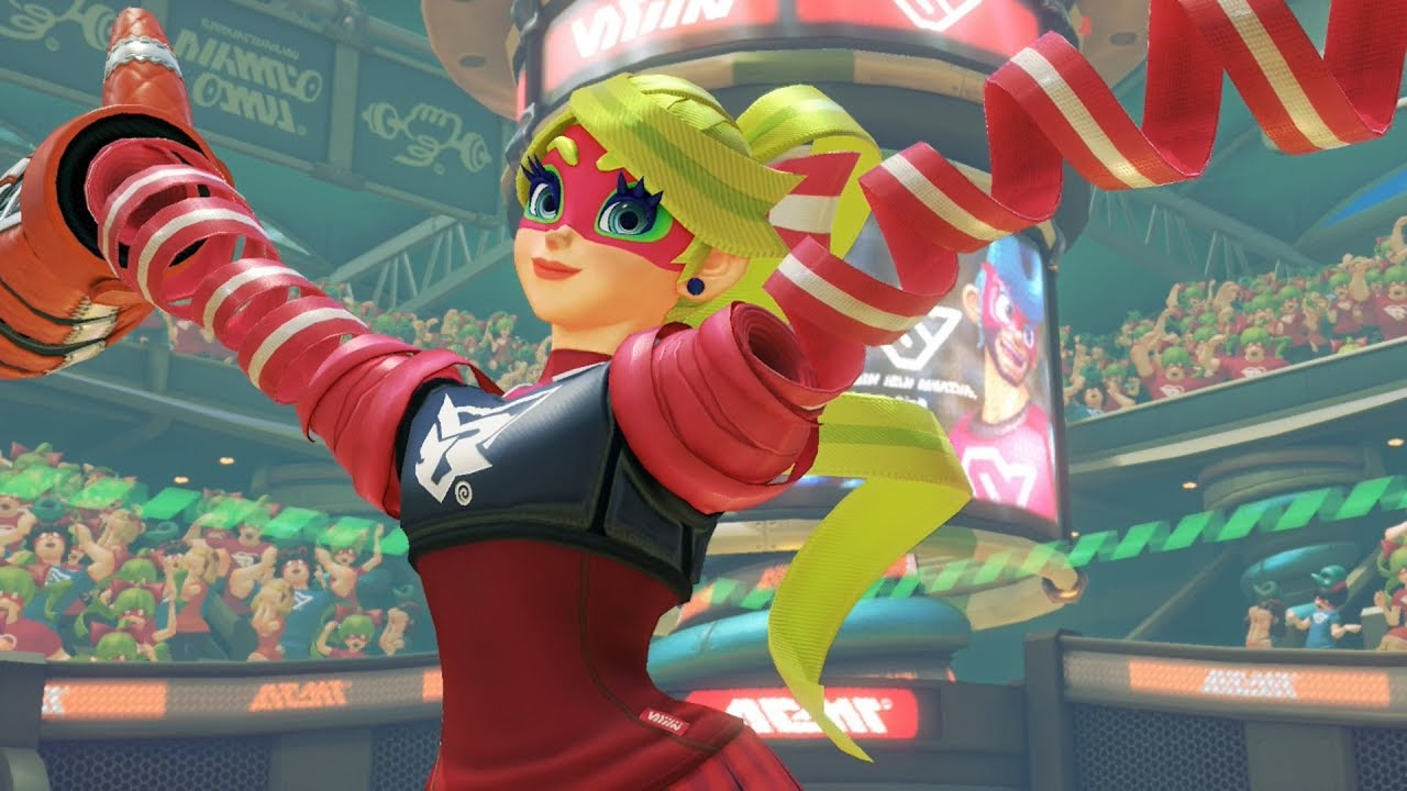 ARMS Gameplay - Ribbon Girl (60 FPS) Nintendo Switch - YouTube