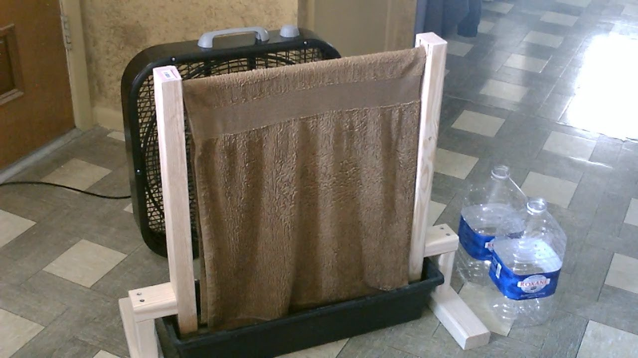 Diy Airco Homemade Evap Air Cooler The Diy