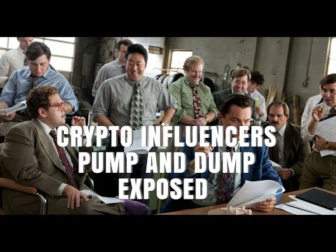 Major Crypto Influencers Pump and Dump exposed -Screen shot evidence included