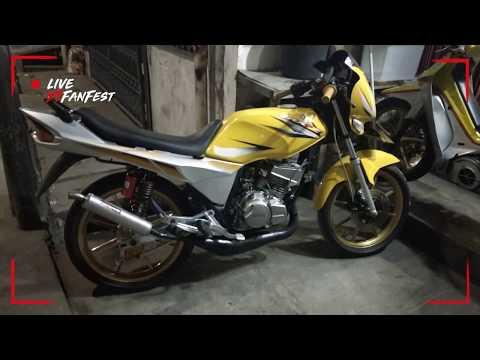 RXZ catalyzer yellow knalpot YY pang Malaysia