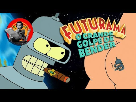 Futurama: O Grande Golpe de Bender - duas dublagens (TV paga)