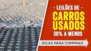 Carros batidos a venda em leilões de carros usados