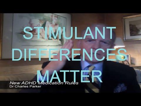 Adderall & Vyvanse vs. Ritalin & Concerta - Tutorial