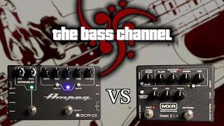 Ampeg SCR-DI vs. MXR Bass DI+