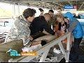 Хабаровские рыбоводы принимают роды у самок осетра