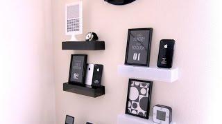 【DIY】100均の材料で♪オシャレでかわいいウォールシェルフ(壁棚)アイデア6選~Cute Wall shelf ideas fashionable.