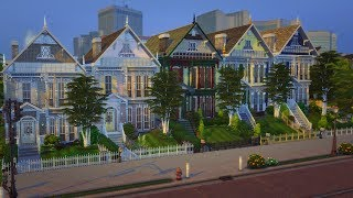 The Row | The Sims 4 Speed Build