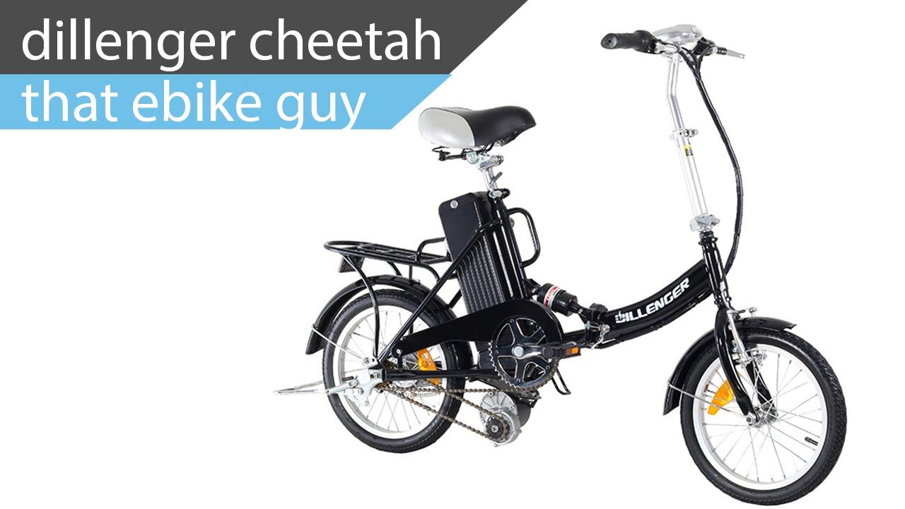 That E Bike Guy Dillenger Cheetah Folding Electric Bike