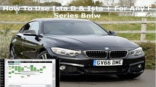 Bmw How To Use Ista D & Ista + On Any F series Bmw