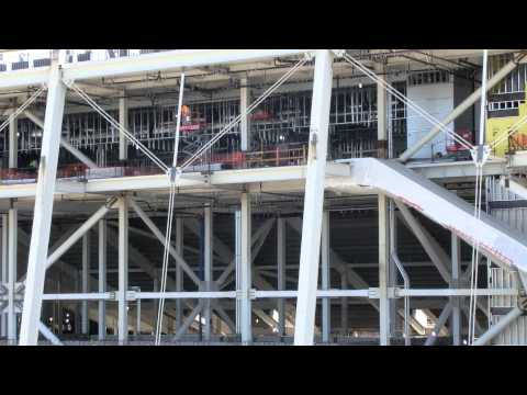 HD Zoom inside $1.2B  49ers stadium under construction  -2