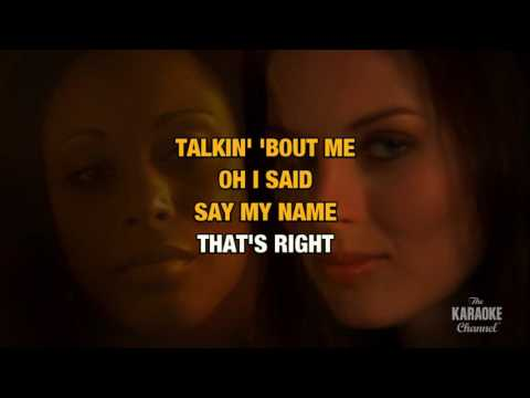 When You Talk About Love in the style of Patti LaBelle | Karaoke with Lyrics