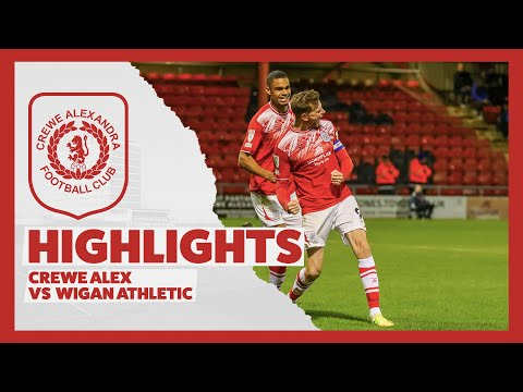Crewe Wigan Goals And Highlights