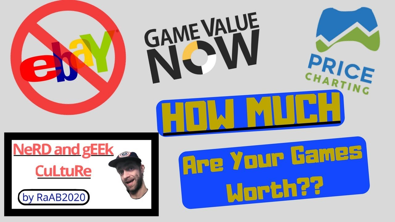 Value Now And Price Charting Tutorial How To Track Your Video Collection