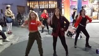 러시아댄스팀 레드스파크(RED SPARK)/미쳐(Crazy)-포미닛(4MINUTE)190403 홍대(Hong…