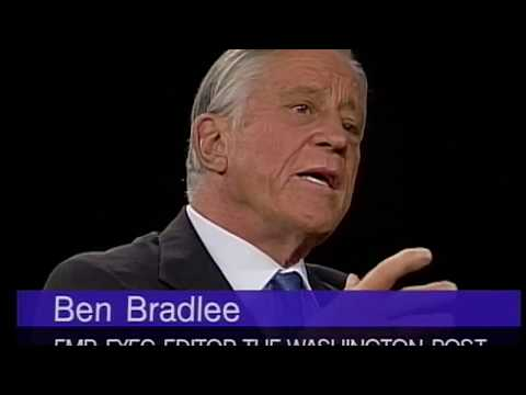 Ben Bradlee interview on Journalism and The Washington Post (1995)