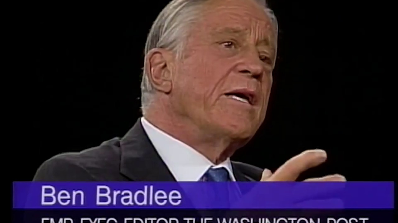 Download Ben Bradlee interview on Journalism and The Washington Post (1995)
