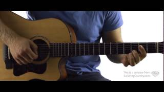 Shotgun Rider - Guitar Lesson and Tutorial - Tim McGraw