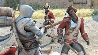 Assassin's Creed 3 Mster Connor with Ezio`s Outfit & Naval AXE Rampage  Ultra Settings