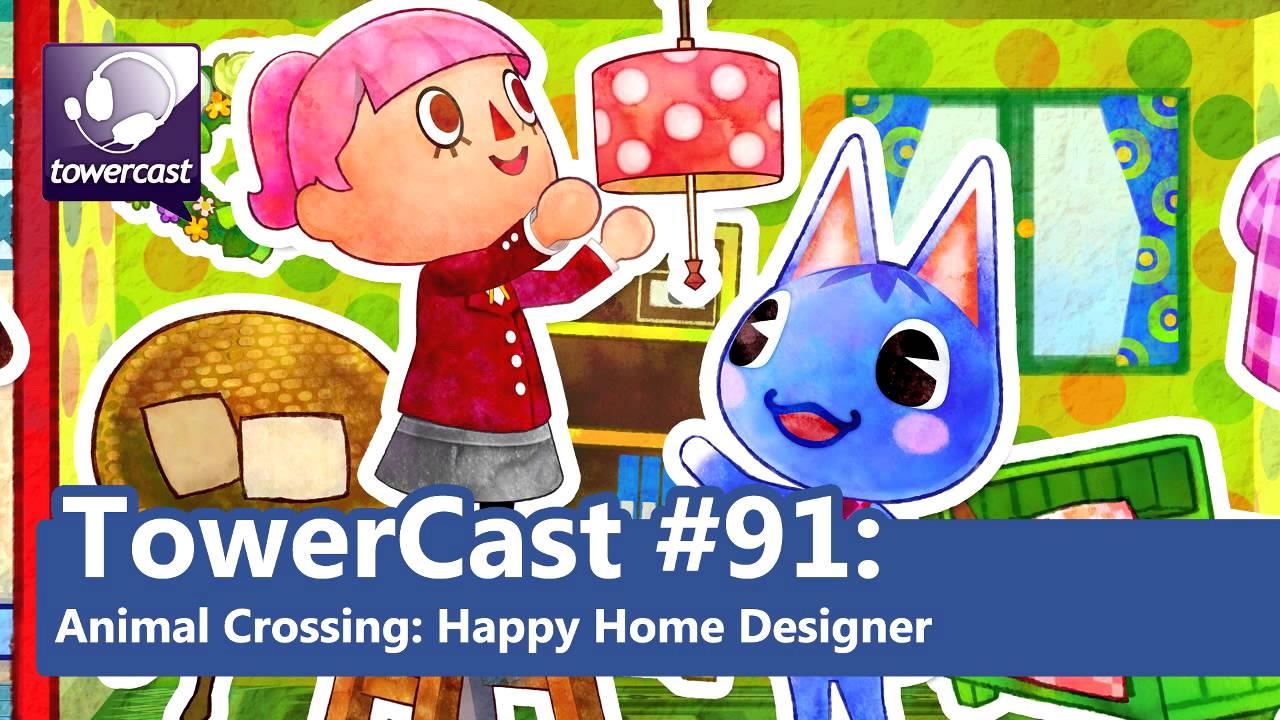 Towercast 91 Animal Crossing Happy Home Designer Youtube