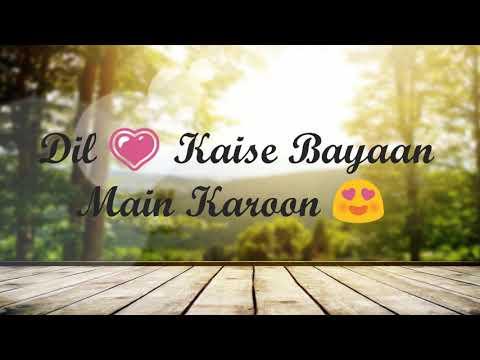 Paniyon Sa Whatsapp Status Lyrics Video
