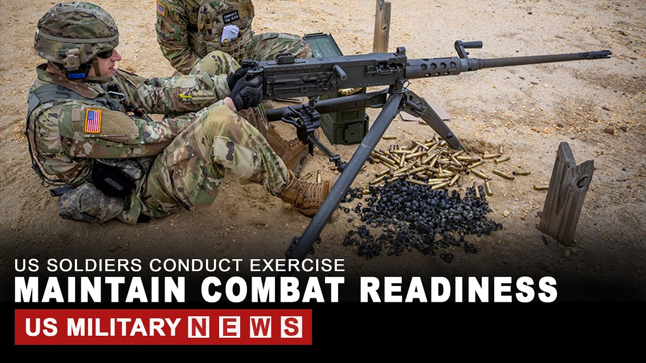 Watch how the US Soldiers conduct exercise to maintain combat readiness