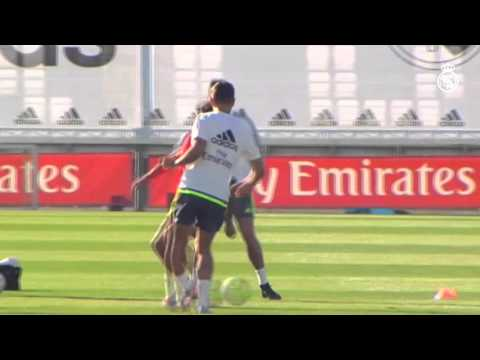 Kroos, Nacho y Varane se entrenaron / Kroos, Nacho and Varane return to training