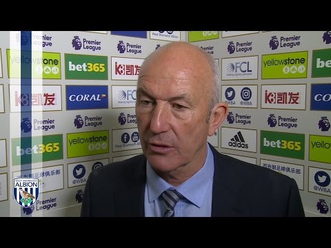 Tony Pulis discusses Albion's 1-0 defeat by Premier League Champions Chelsea