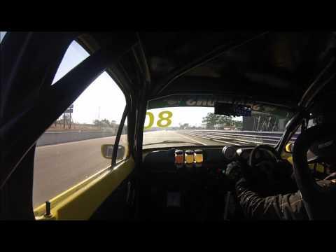 Simon Bulasch IPRA MK1 Ford Escort Darwin Supercars Race 1 2017