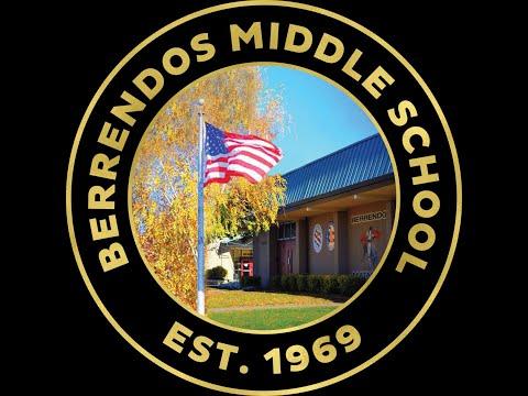 Berrendos Middle School 2020 8th Grade Virtual Graduation
