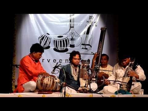Ustad Sarwar Hussain Khan and Ustad Farookh Latif Khan-sarangi jugalbandi-raag shree part 1