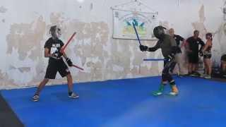Btcooc - Double Stick Fight - Kali