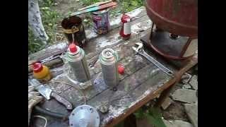 Заправка цангового газового баллона(, 2013-06-27T07:02:30.000Z)