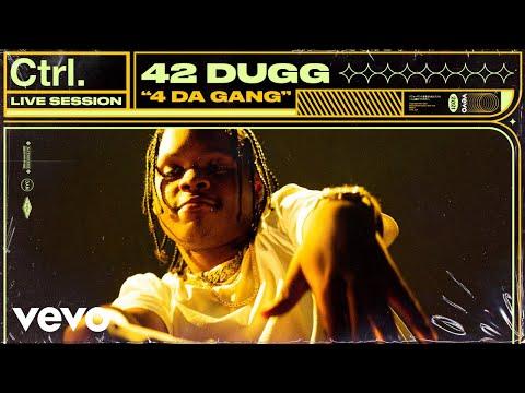 42 Dugg – 4 Da Gang (Live Session)   Vevo Ctrl