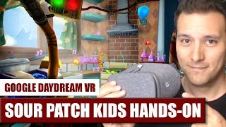 Sour Patch Kids: Zombie Invasion for Daydream VR Hands-On Review