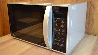 Обзор микроволновой печи с грилем LG MB-4342 BS