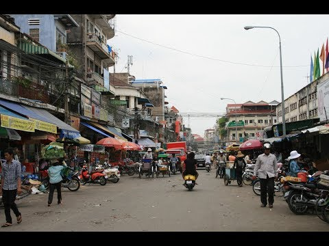 Walking to Work  | Living in Cambodia