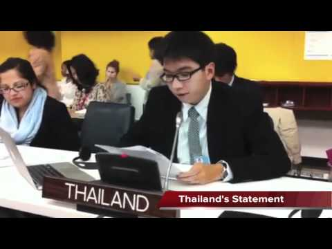 Thailand's statement to the 66th United Nations General Assembly addressed by youth delegates