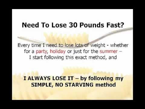 Dr OZ Shows 4 Day Diet To Lose 10 Pounds