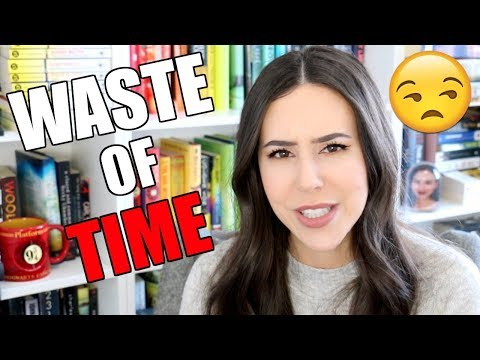 What a waste of time... lots of popular YA books    Totally Didn't Book Tag