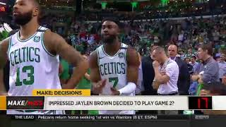 NBA: The Jump (May 04, 2018)Current and former NBA players, ESPN analysts....