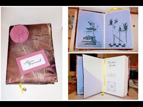 Buch selber basteln Buch selber machen Buch selber