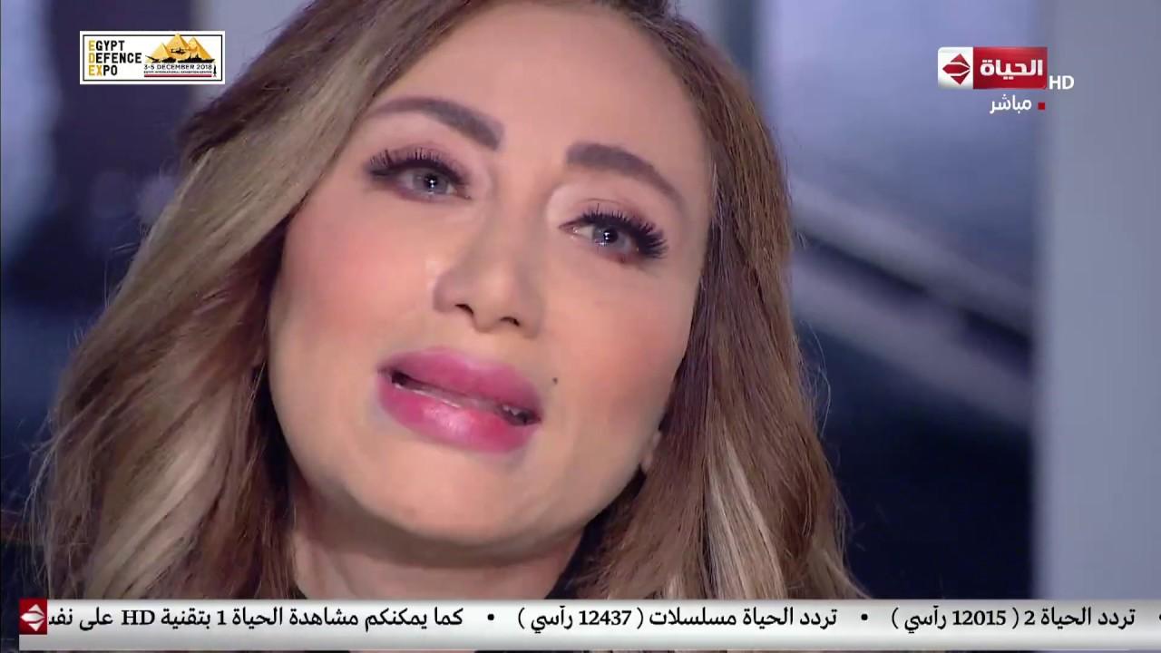 صبايا مع ريهام سعيد - ريهام سعيد تنهار من البكاء وهي تتحدث عن رانيا يوسف
