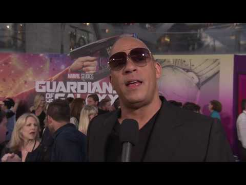 Guardians of the Galaxy Vol  2  Vin Diesel 'Baby Groot' Red Carpet Movie Premiere Interview