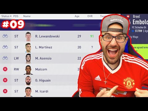 OMG YES! WE SIGNED A LEGEND!! - FIFA 18 Career Mode MANCHESTER UNITED #09