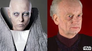 Everything We Know About Palpatine's WIVES and LOVERS - Star Wars Canon and Legends